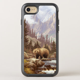 Grizzly Bear Landscape OtterBox Symmetry iPhone 7 Case