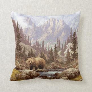 Grizzly Bear Pillows - Decorative & Throw Pillows Zazzle