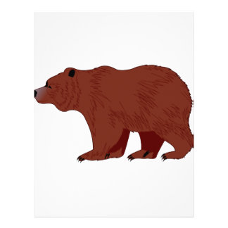 Grizzly Bear Letterhead