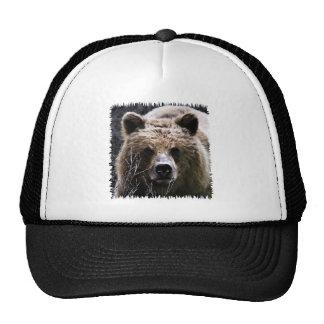 Grizzly Bear Logo Trucker Hat
