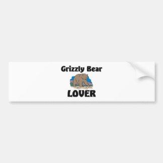 Grizzly Bear Lover Bumper Sticker