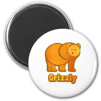 Grizzly Bear Magnet