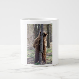 Grizzly Bear Scratching an Itch Large Coffee Mug