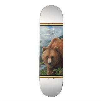 Grizzly Bear Skateboard