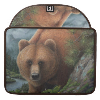 Grizzly Bear Sleeve For MacBook Pro