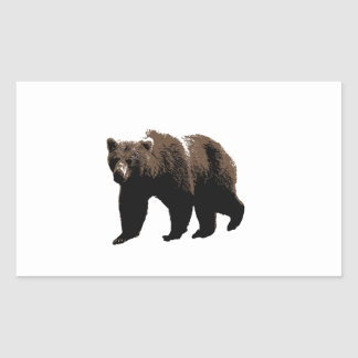 Grizzly Bear Stickers