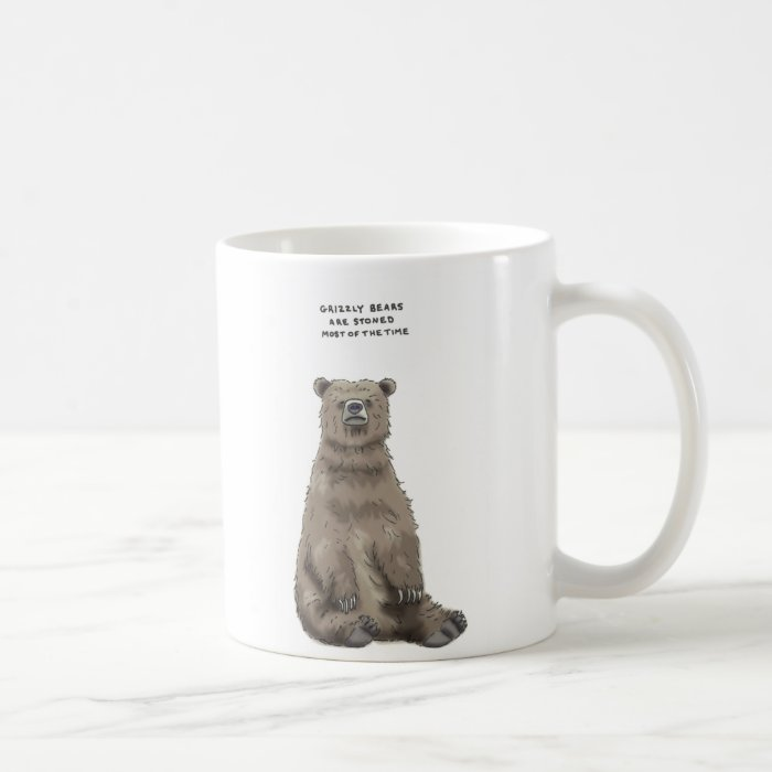 grizzly bear trivia coffee mug