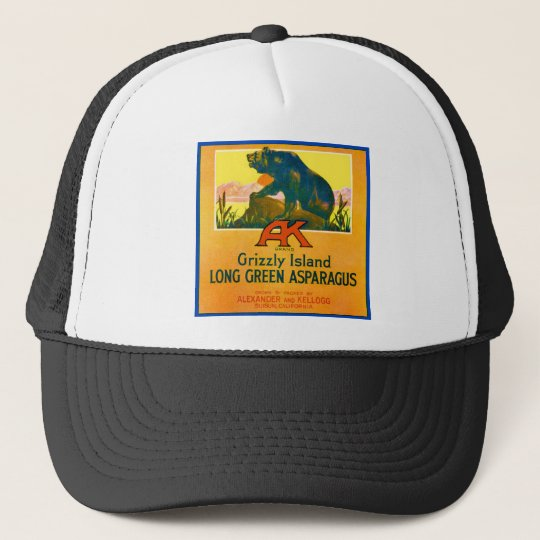 Grizzly Bear Trucker Hat