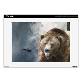 Grizzly Bear Wildlife Animal-lover Decal For Laptop
