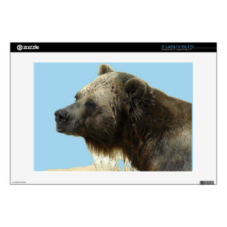 Grizzly Bear Wildlife Animal-Lover Laptop Skin