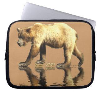 Grizzly Bear Wildlife Computer Sleeve