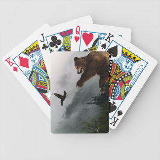 Grizzly Bear Wildlife Designer Pack Bicycle Playing Cards