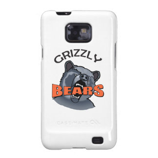 GRIZZLY BEARS MASCOT GALAXY SII CASE