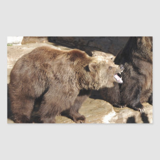 Grizzly Bears Stickers