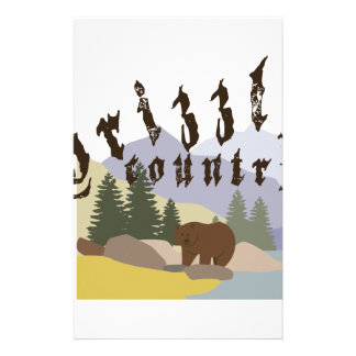 Grizzly Country Stationery