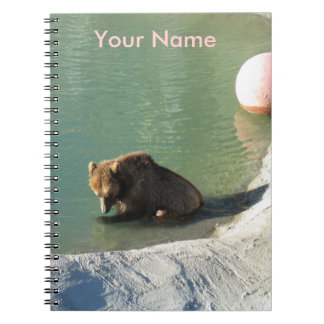 Grizzly Cub Notebook Journal