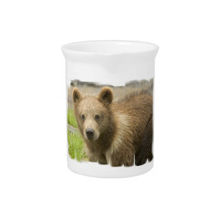Grizzly Cub Pitcher