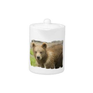 Grizzly Cub Teapot