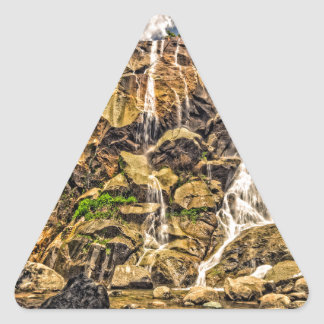 Grizzly Falls Triangle Sticker