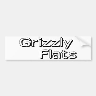 Grizzly Flats Bumper Sticker