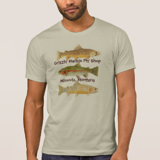 Grizzly Hackle Fly Shop Apparel Tshirt