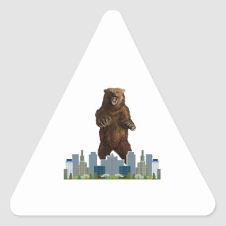 Grizzly Launch Triangle Sticker