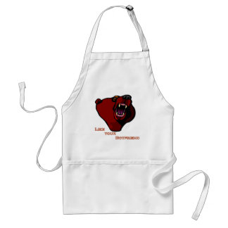 """Grizzly """"like your boyfriend"""" adult apron"""