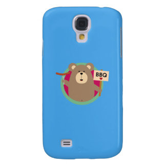 Grizzly Love BBQ Sausage Q1Q Galaxy S4 Cover