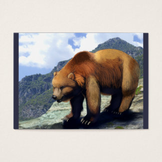 Grizzly Mountain Business Card