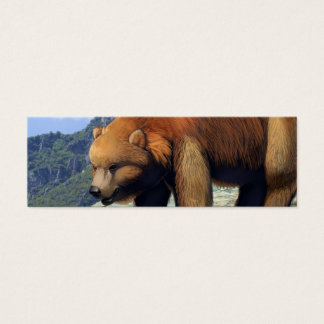 Grizzly Mountain Mini Business Card