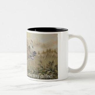 Grizzly Mug with slogan