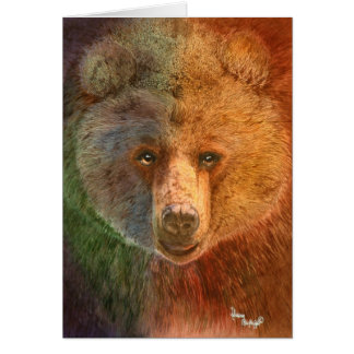Grizzly Note Card