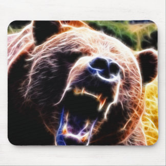 Grizzly Roar Mouse Pad