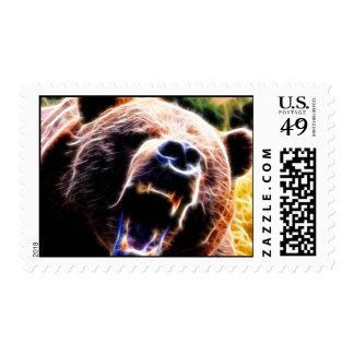 Grizzly Roar Stamps