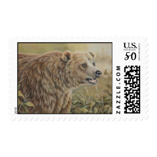 Grizzly Stamp
