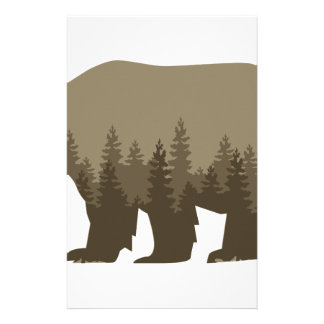 Grizzly Trees Stationery