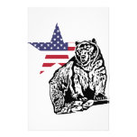 Grizzly US2 Customized Stationery