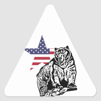Grizzly US2 Triangle Sticker