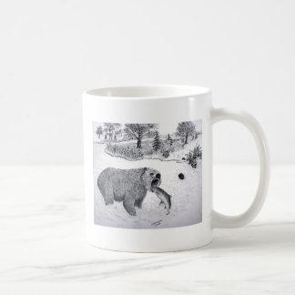 Grizzly w/fish Mug