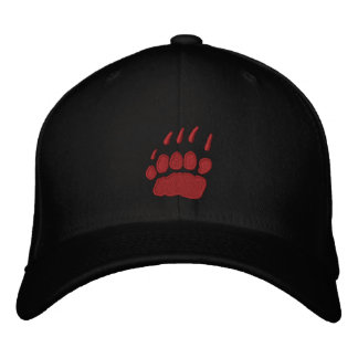 Grizzly Wines Embroidered Baseball Cap