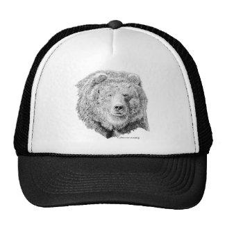 Grizzy Bear Trucker Hat