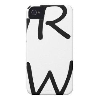 grl pwr3 iPhone 4 case