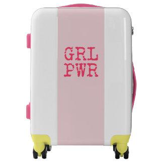 GRL PWR (girlpower) - maleta de la cita de la
