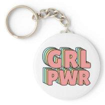 GRL PWR Pastel Keychain