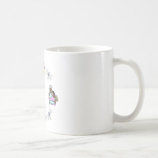Grndms Hands Classic White Coffee Mug