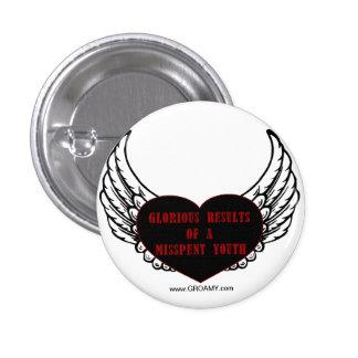 GROAMY Wings Button