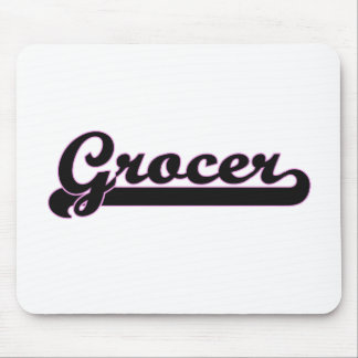 Grocer Classic Job Design Mouse Pad