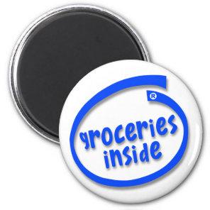 Groceries Inside Magnet