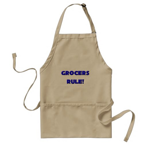 Grocers Rule! Apron