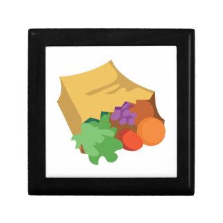 Grocery Bag Trinket Box